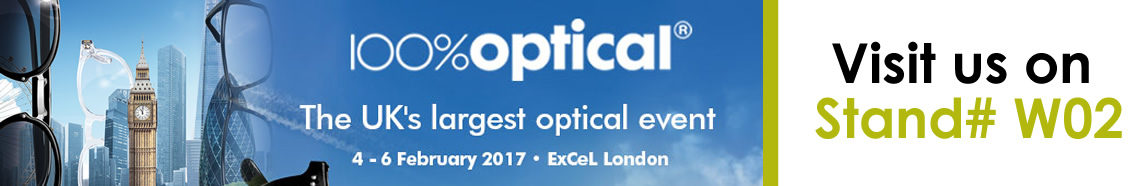 100% Oprical The Uk's largest optical event.