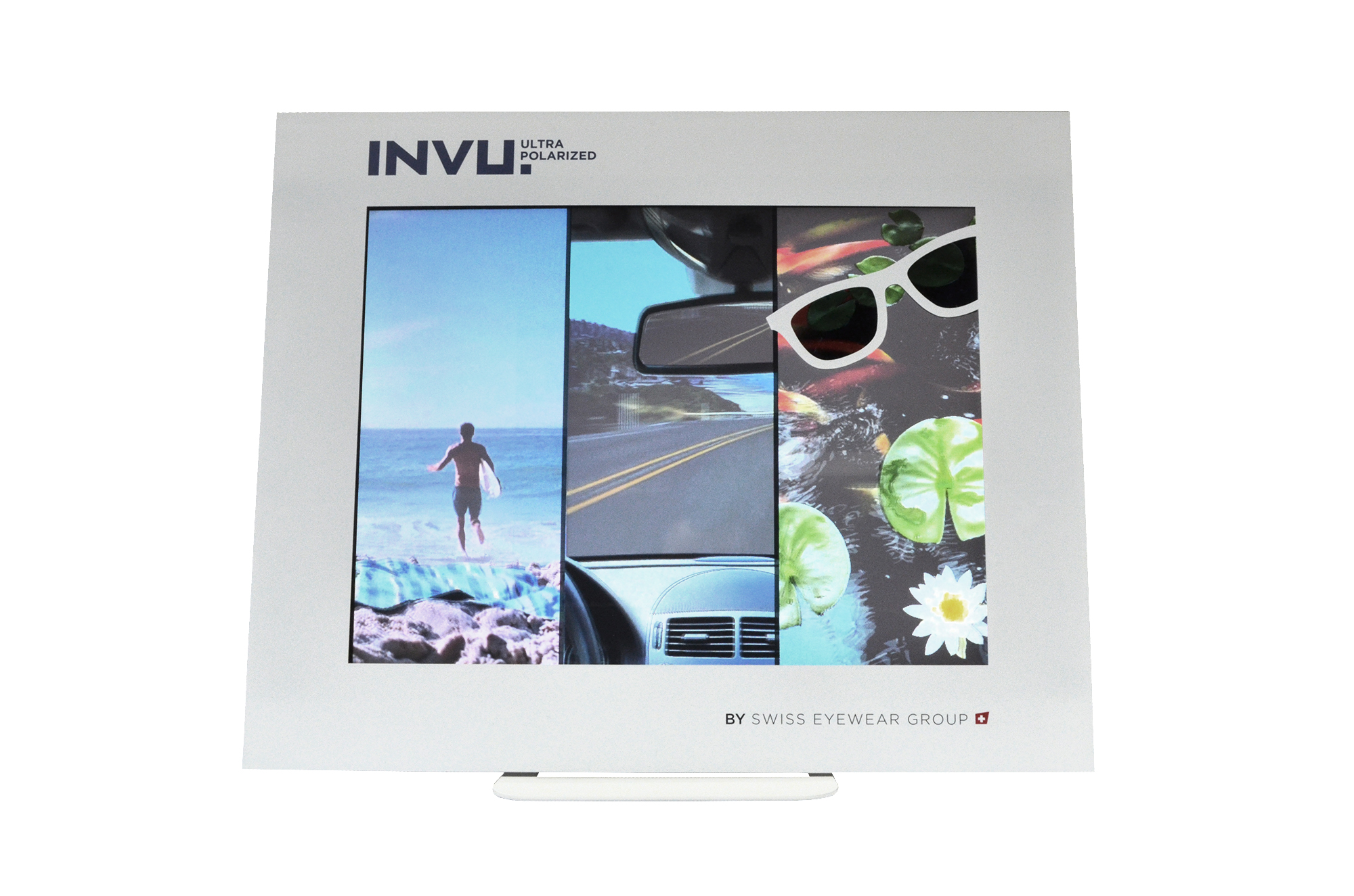 INVU Movie Display with Pola effect